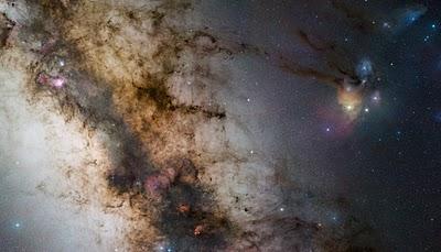The Milky Way: Galactic Center. Guisard
