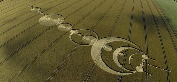 Crop circle...