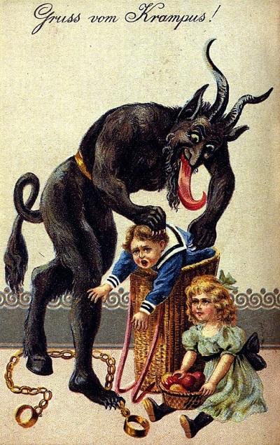 Krampus Devil/Demon