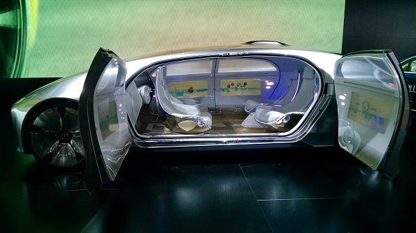 Mercedes-Benz future self driving car concept