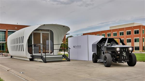 3D printed home and car
