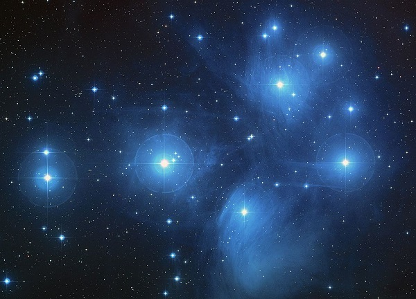 The Pleiades is the most well-recognized open cluster. Photo Credit: NASA