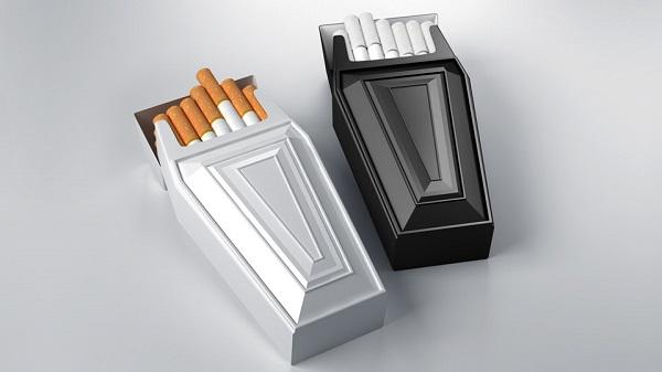 anti-smoking boxes carton