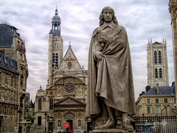 Statue of Blaise Pascal
