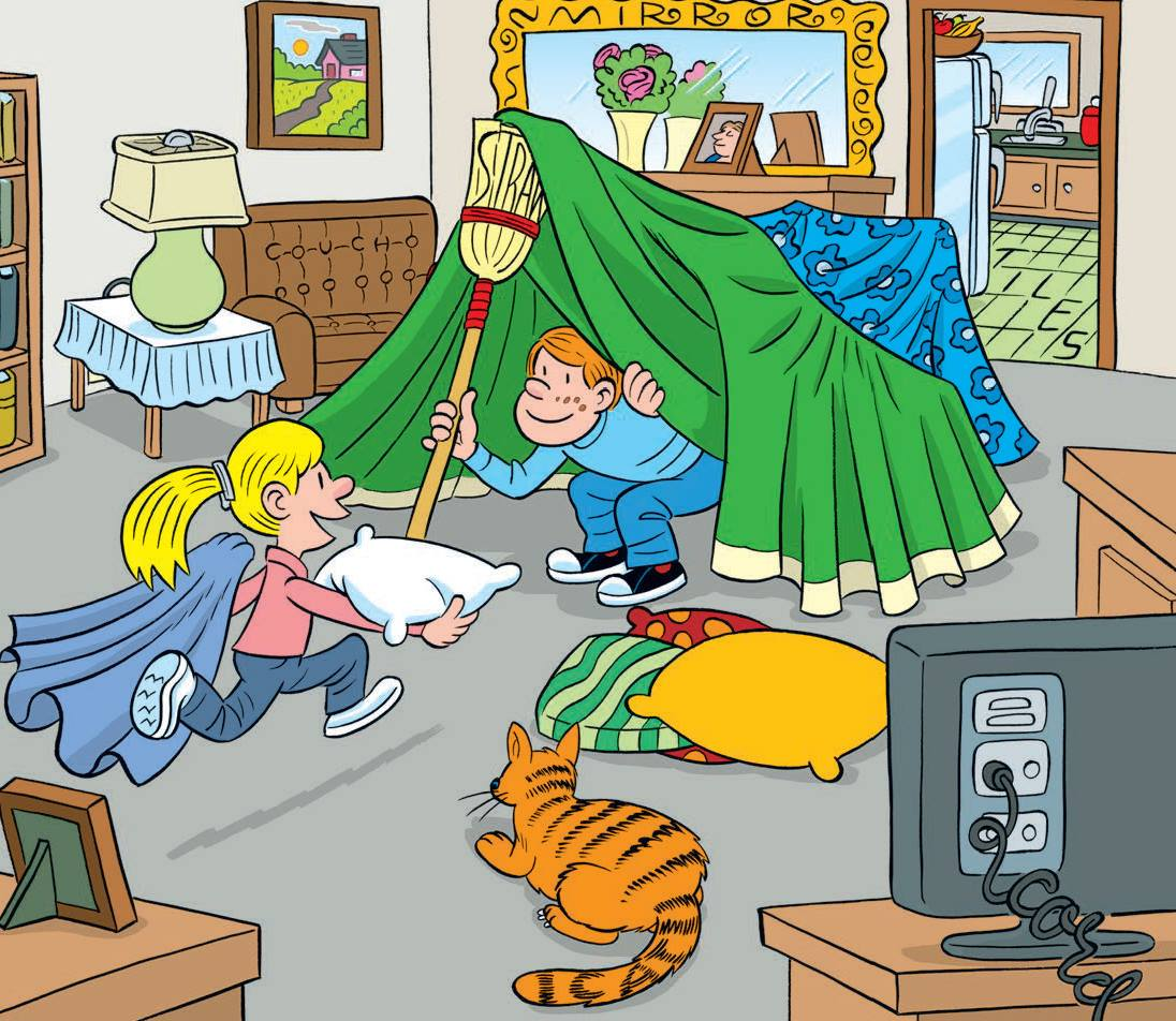 Can you spot the hidden words in this picture?
