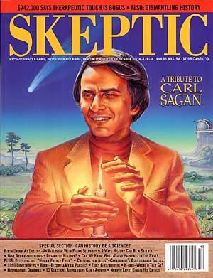 carl sagan, skeptic magazine