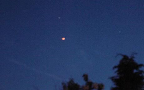 chinese lantern looks like ufo