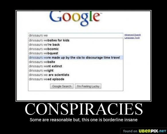 The Dinosaur Conspiracy - yet to be made into a movie