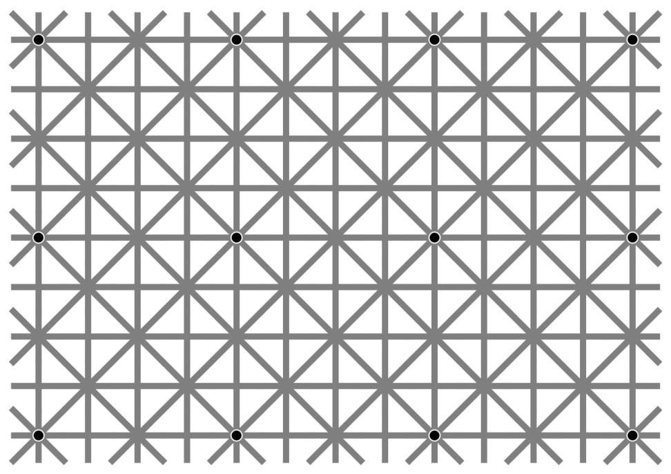 The Disappearing Dot Illusion