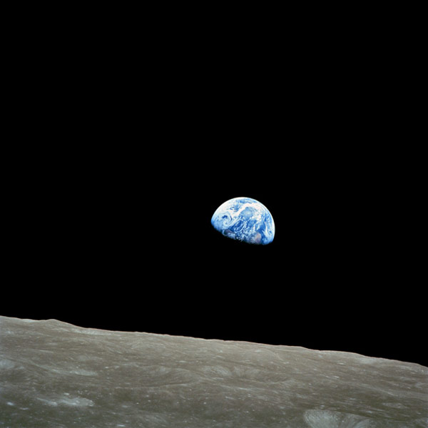 Earthrise - greatest science photo