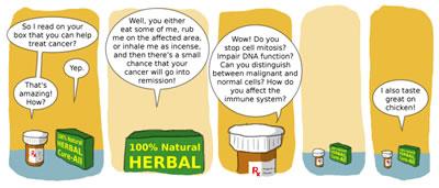 natural remedy comic
