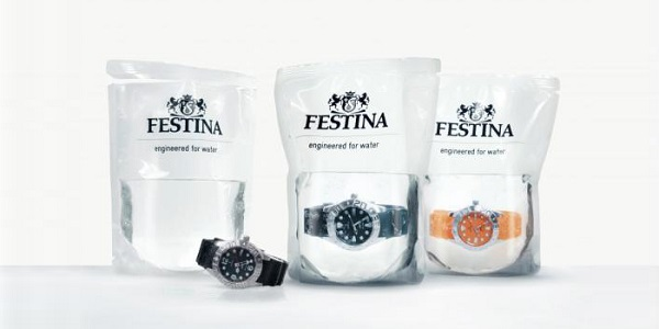 festina watches in water package