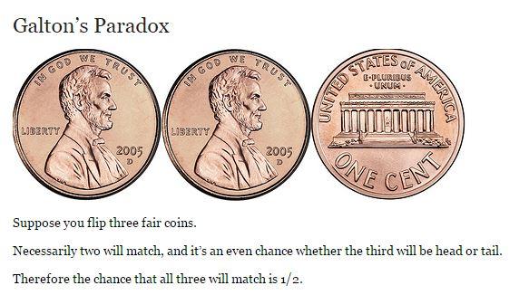 Galton's Paradox Explained