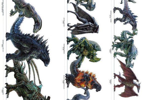 Kaiju, Ultimate Size Chart