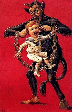 Krampus Christmas Child