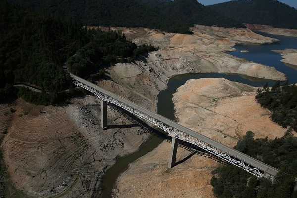 lake oroville reservoir california after drought