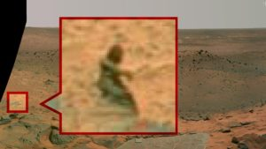 Who is this... a mermaid, or a philosopher on Mars?