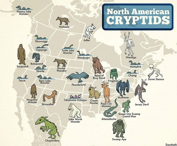 North American Cryptids