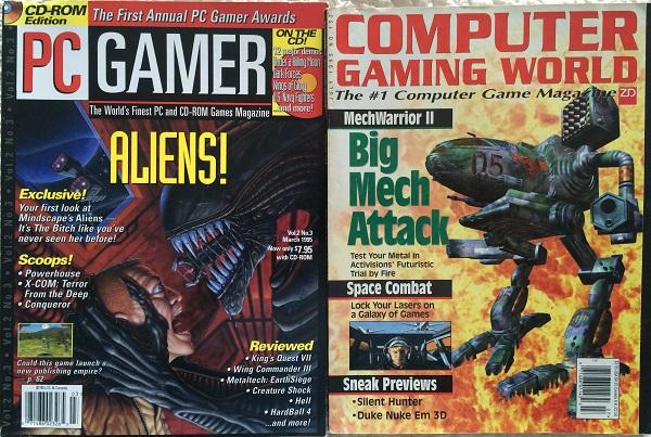 PC Gamer and Computer Gaming World: 1995