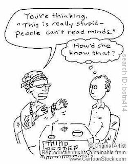 psychic comic