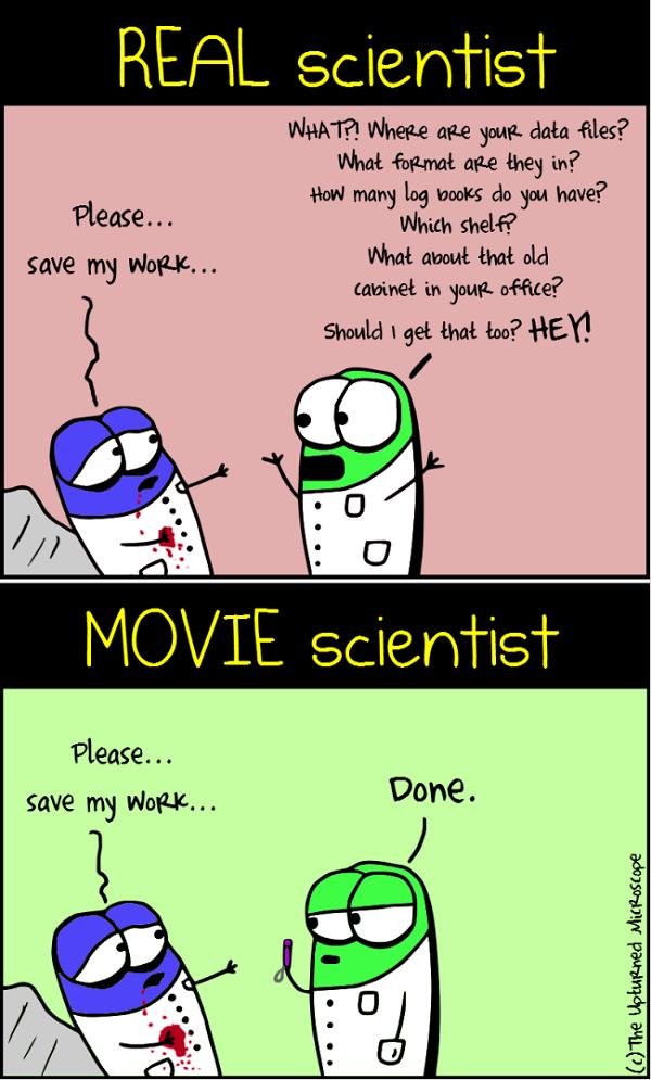 real vs movie scientists 4