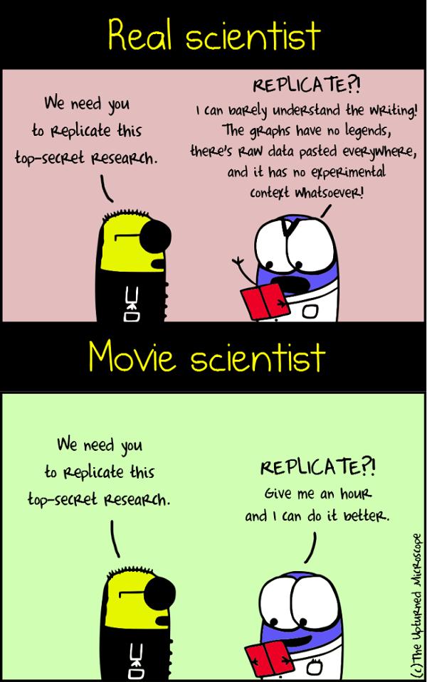 real vs movie scientists 7