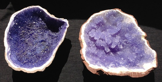 rock candy geodes
