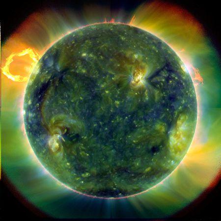 solar dynamics observatory color temperatures