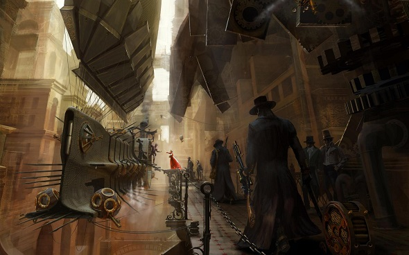 Example of steampunk