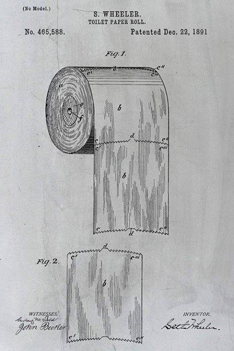 Toilet Paper Patent Over Under Debate Solved