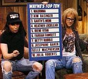 wayne's world, lists