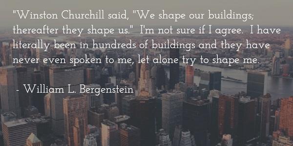 william l bergenstein - building churchill quote