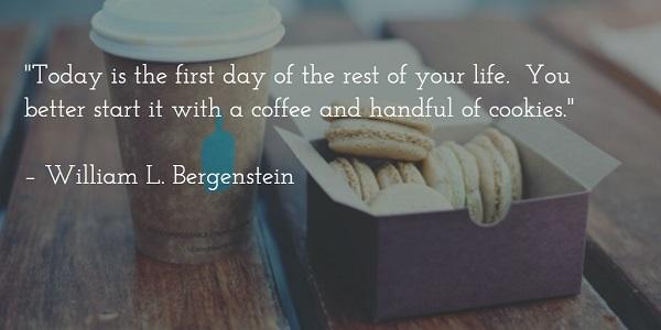 william l bergenstein - today quote
