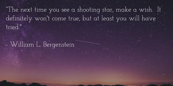 william l bergenstein - wish upon a star quote