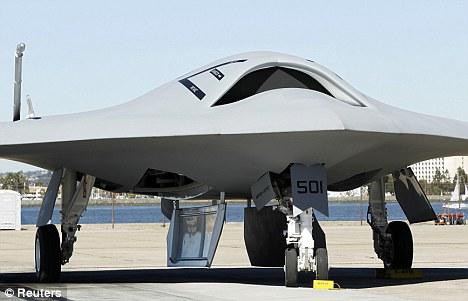 Nope, just an X47b aircraft drone.