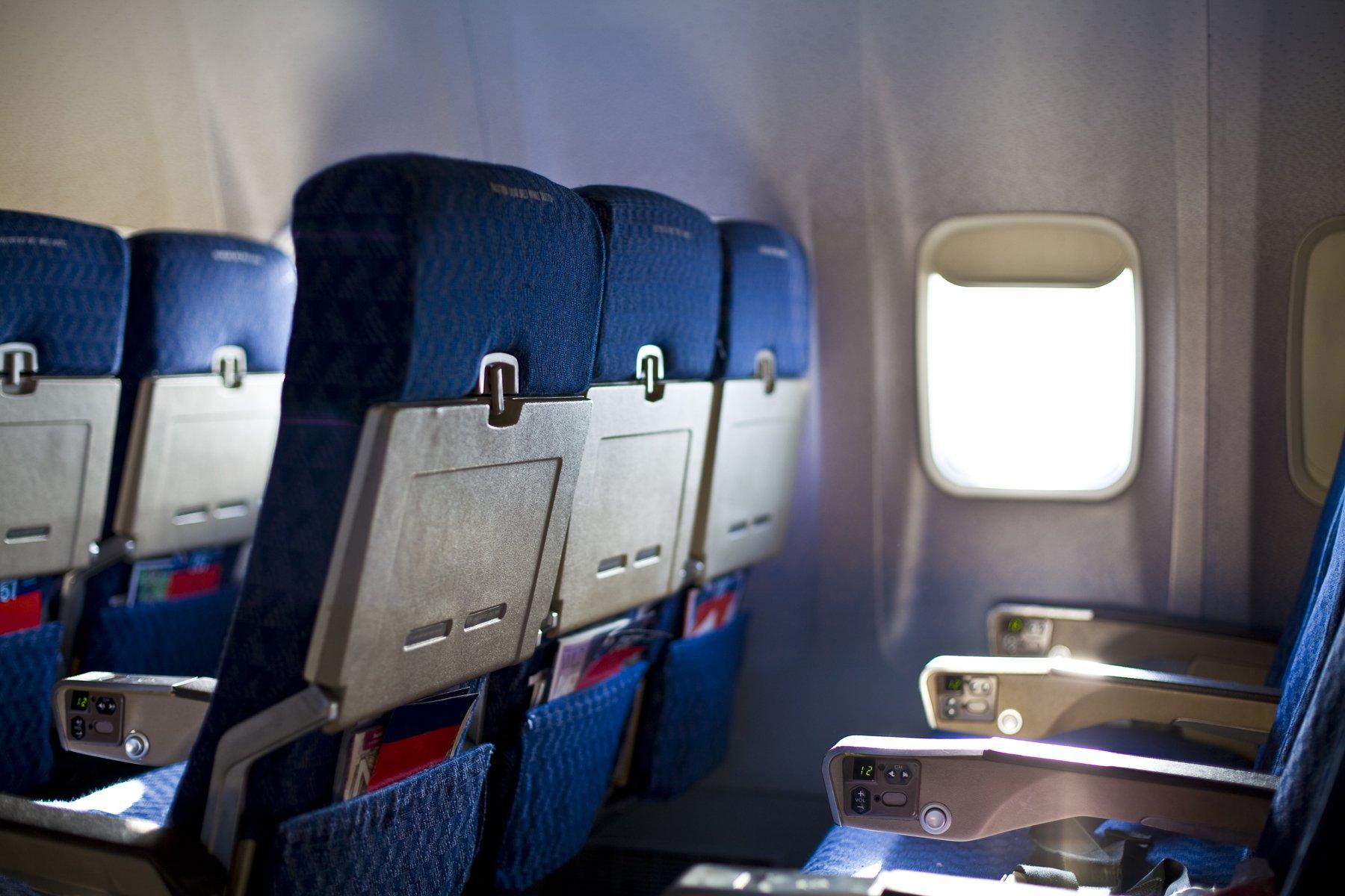 empty seats on flight