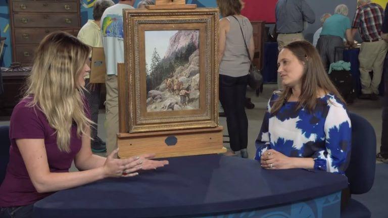 appraisal of grandma painting