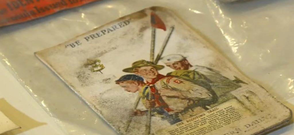 boy scout card found in wallet
