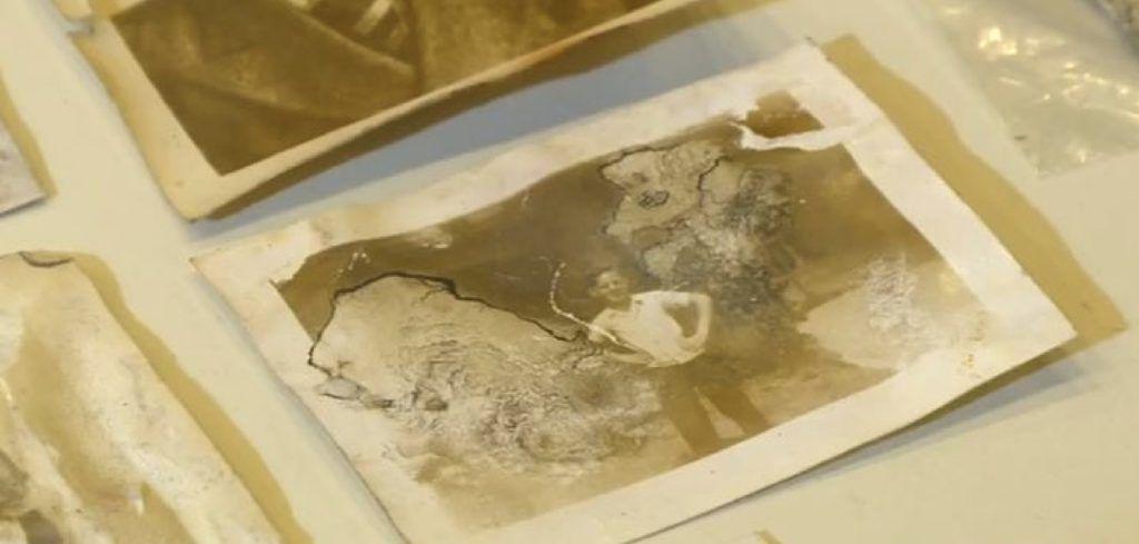 old photos found in wallet