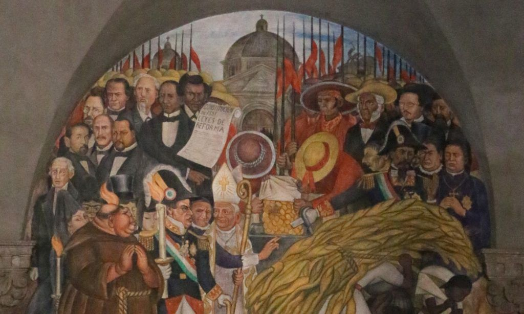 painting the giant fresco