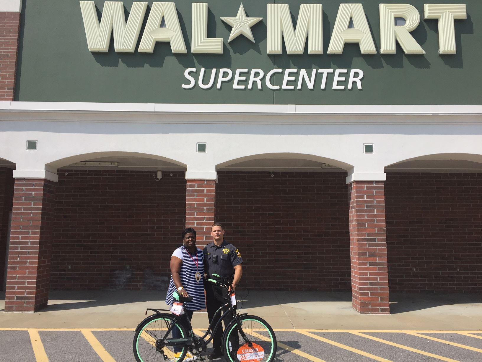 Jaylesya Corbett new bike for drive to work