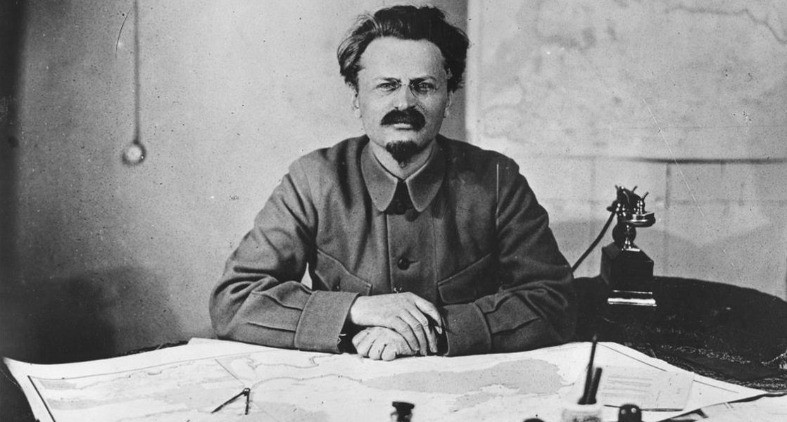painter Diego Riviera hosted Trotsky