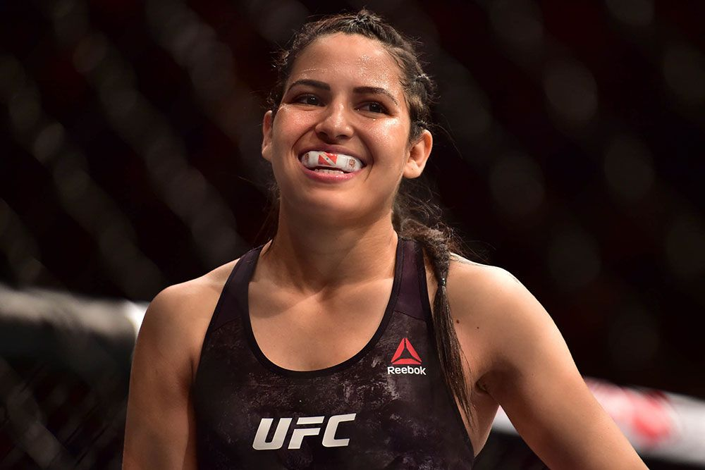 man gets comeuppance from female UFC fighter