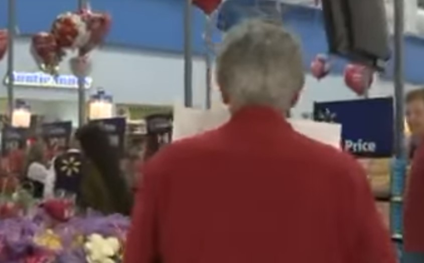 Louis proposes to his ex in Walmart