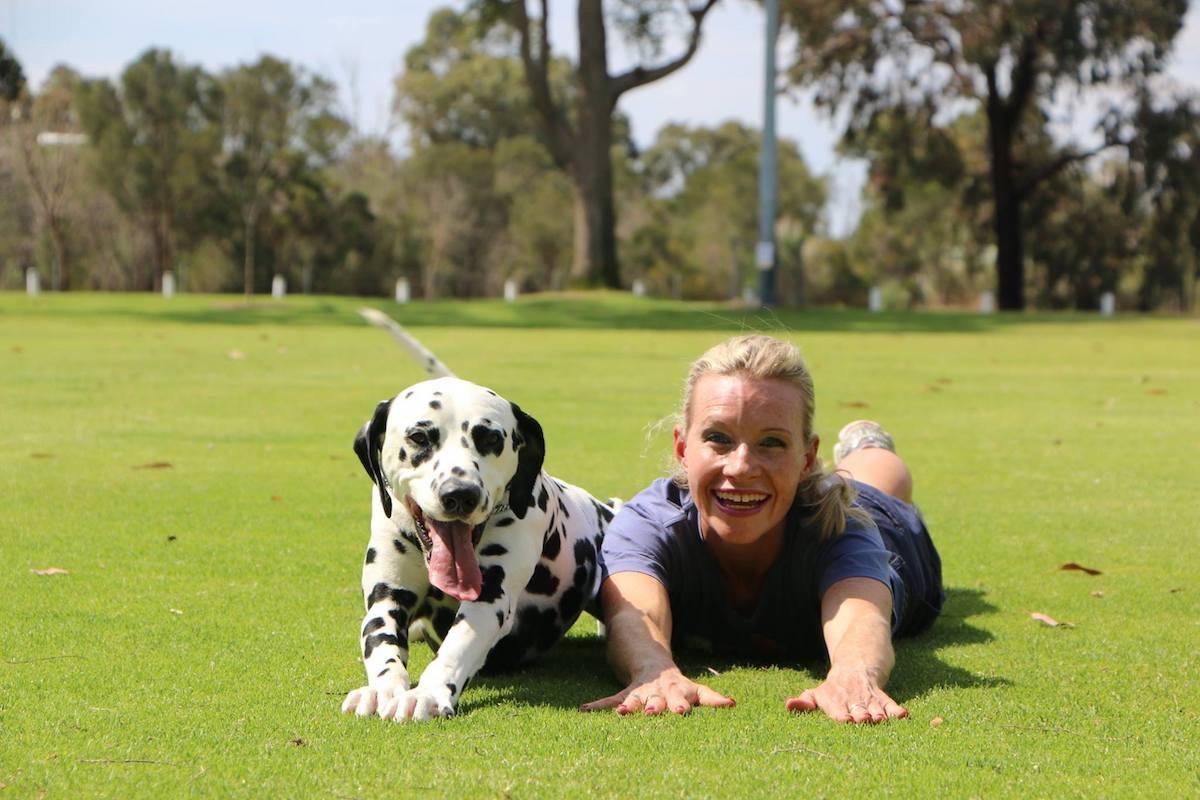 the dog was an Australian champion