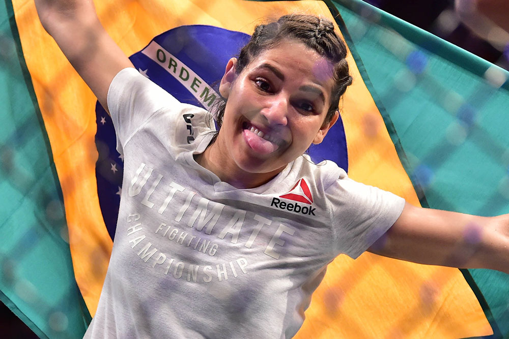 female UFC star, Polyana Viana