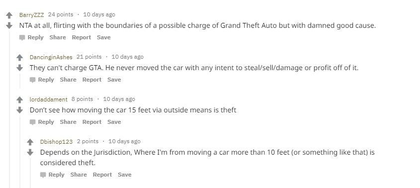 controversy regarding parking bays