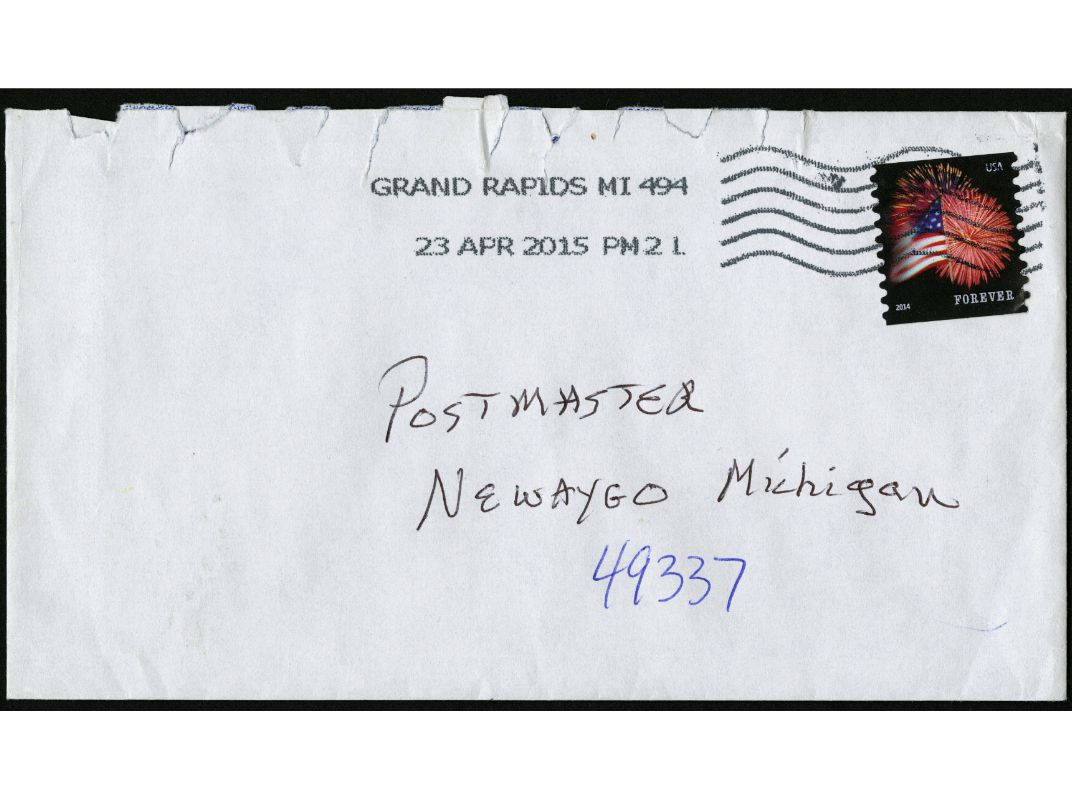 mail addressed to the 'postmaster'