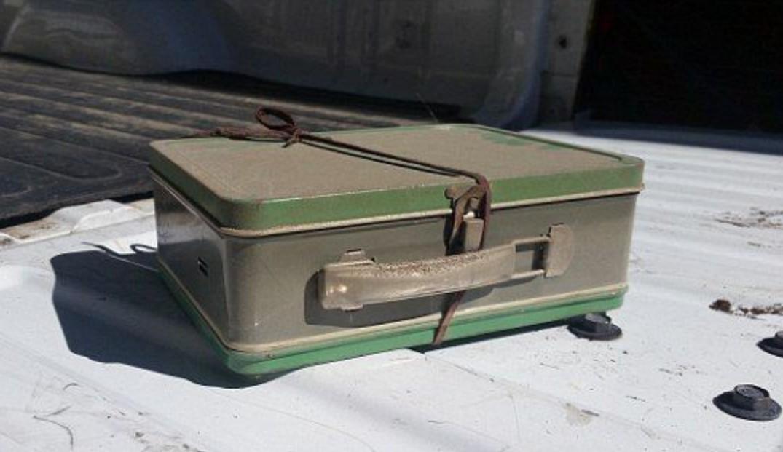 FBI investigate mysterious suitcase
