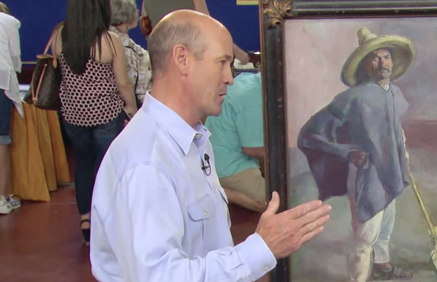 was the painting a fake?